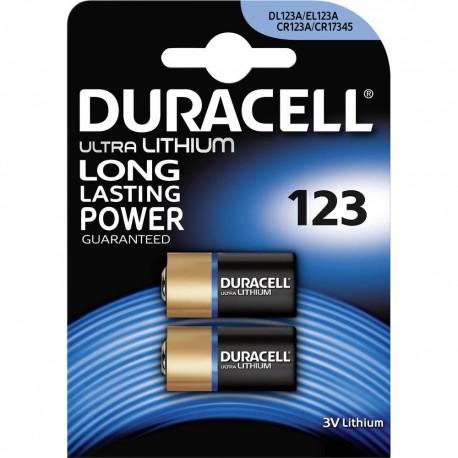 Pila de litio 123 ultra power 3v - 2 unidades