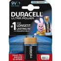 Pila alcalina Duracell Ultra Power 9v 6LR61