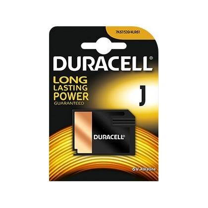 Pila alcalina Duracell J de 6v